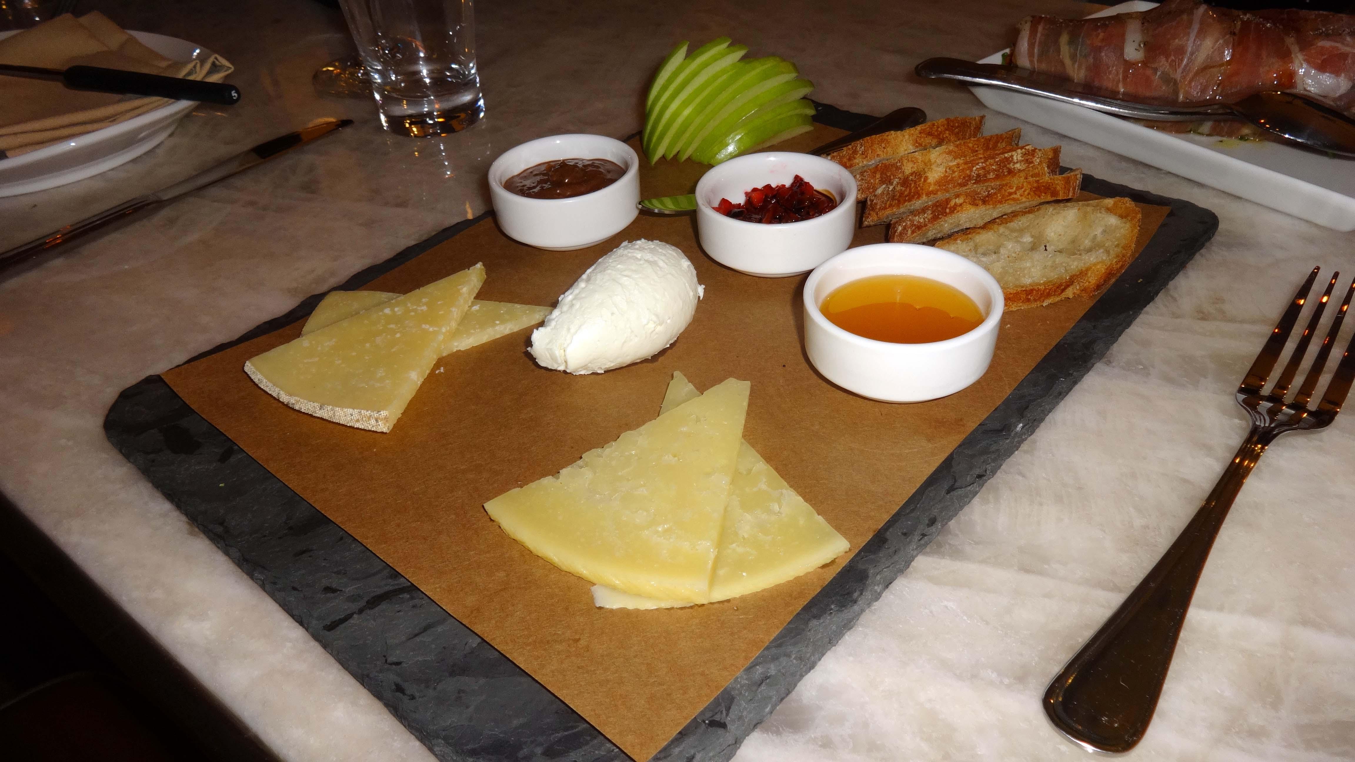 Amada cheese plate