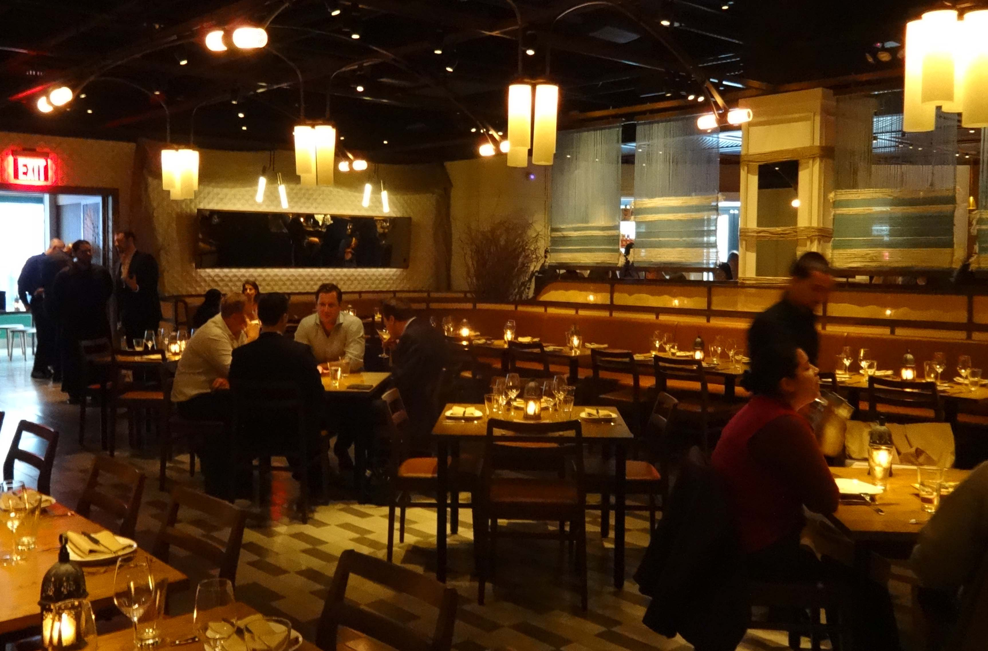 Amada dining room