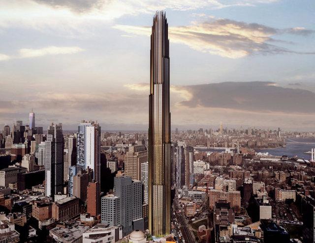 Brooklyn pencil tower