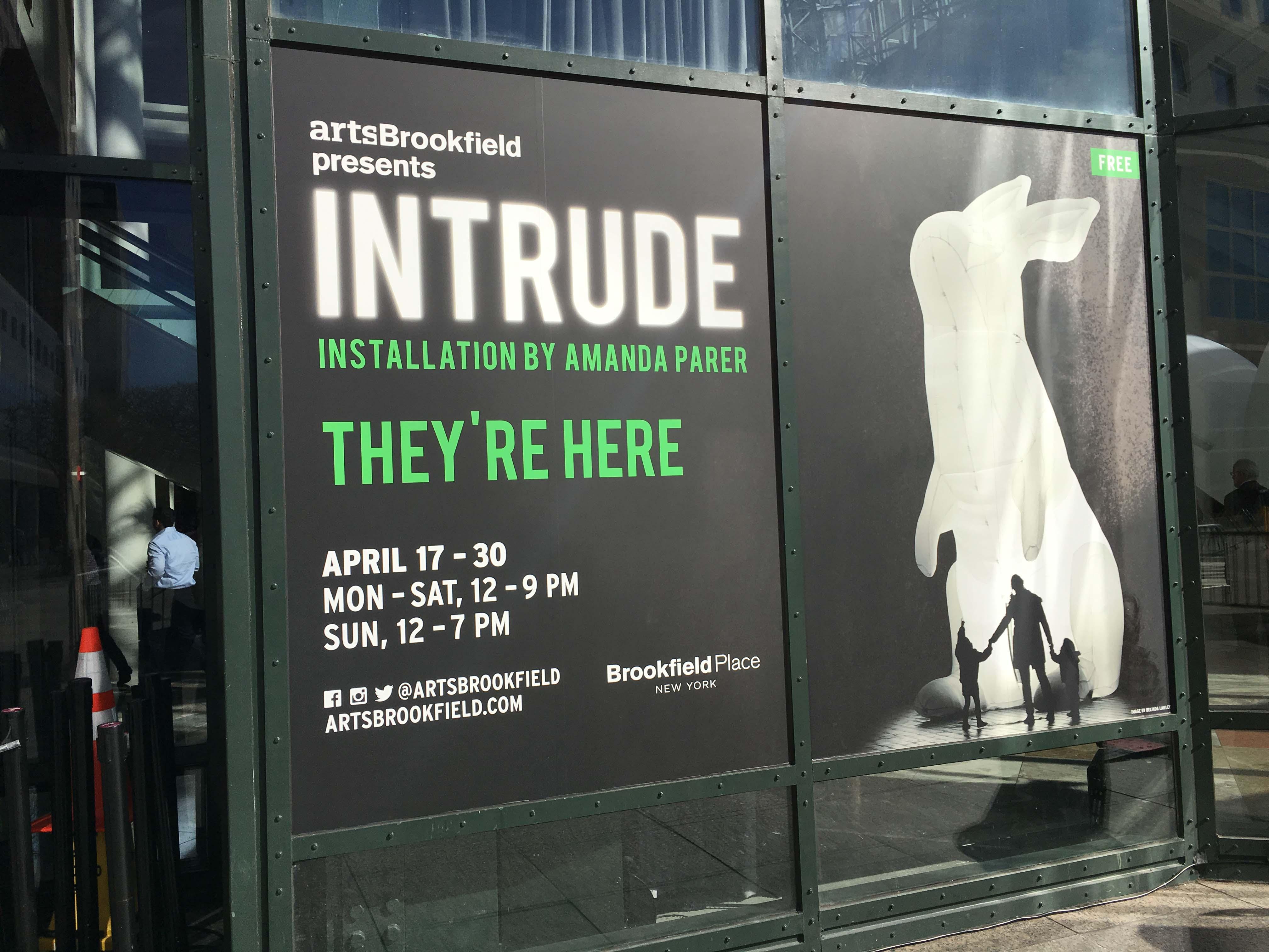 INtrude exhibit
