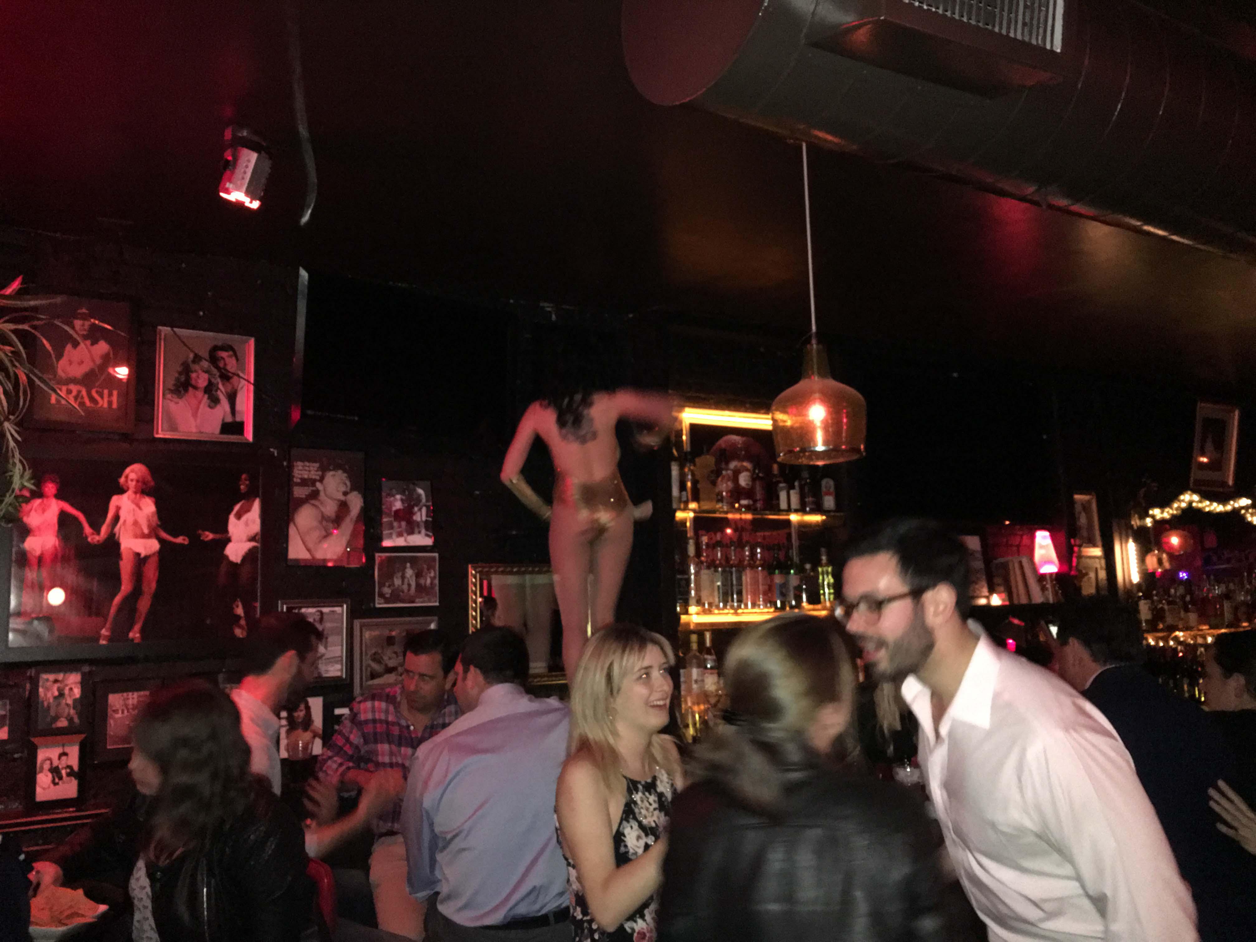 Ethyls bar top dancer