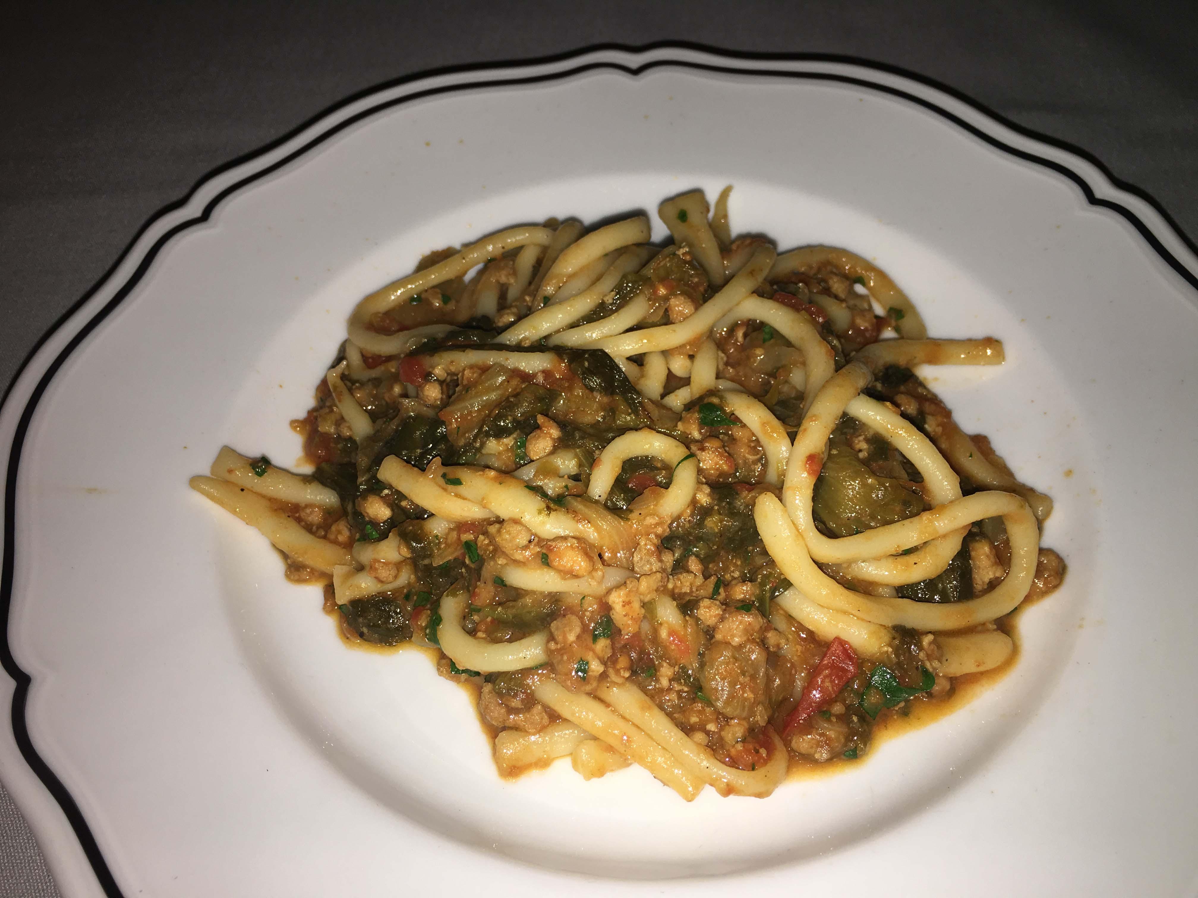 La Sirena hand rolled spaghetti