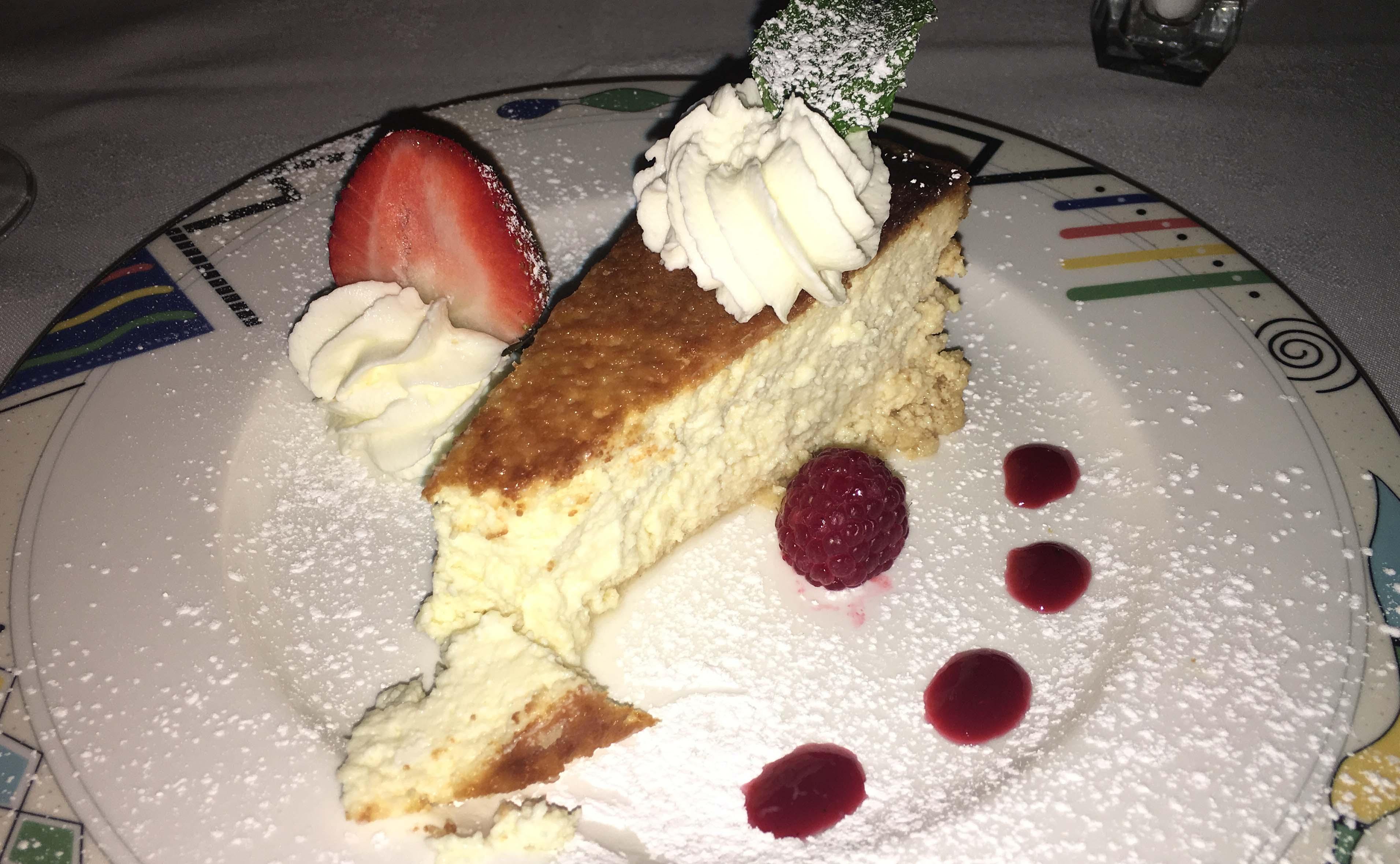 Mulinos Italian cheesecake
