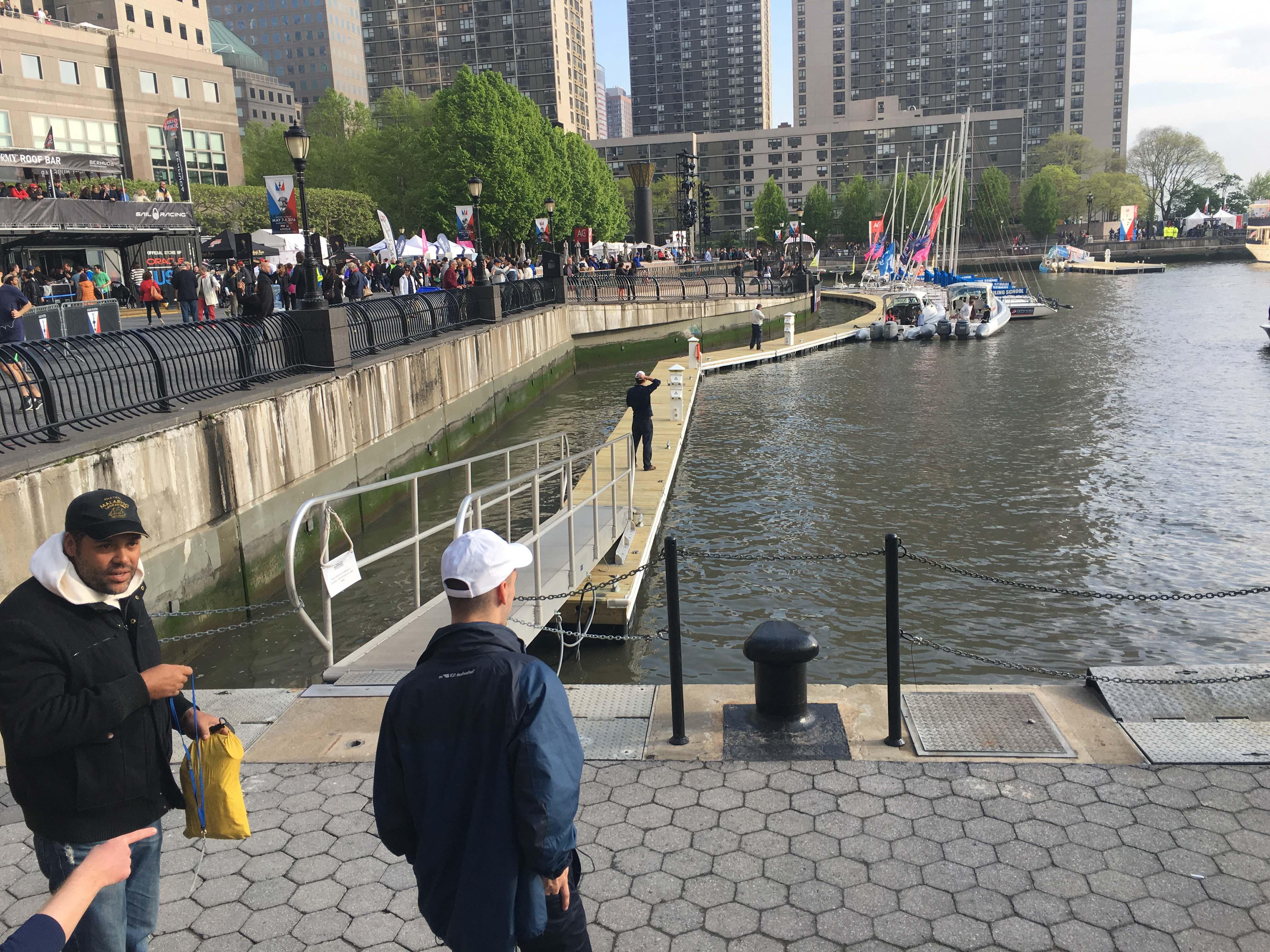 North Cove marina docks closed to public