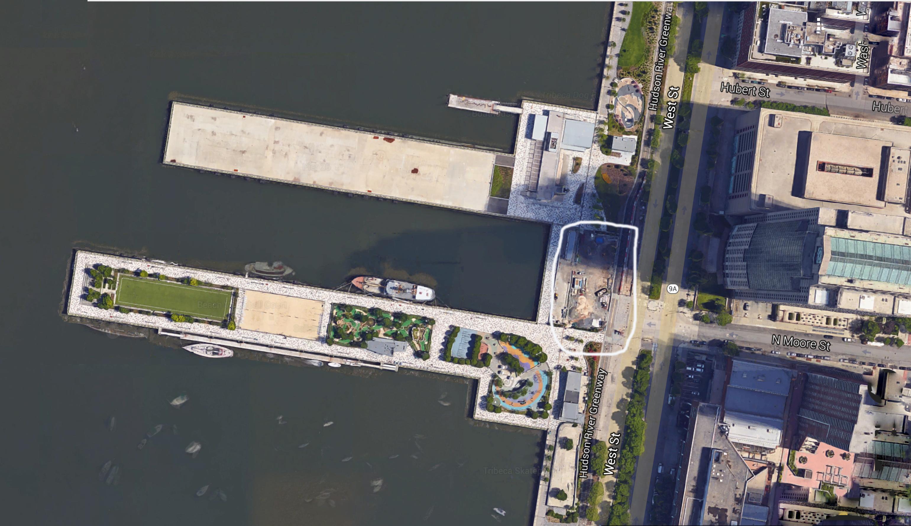 Pier 26 satellite