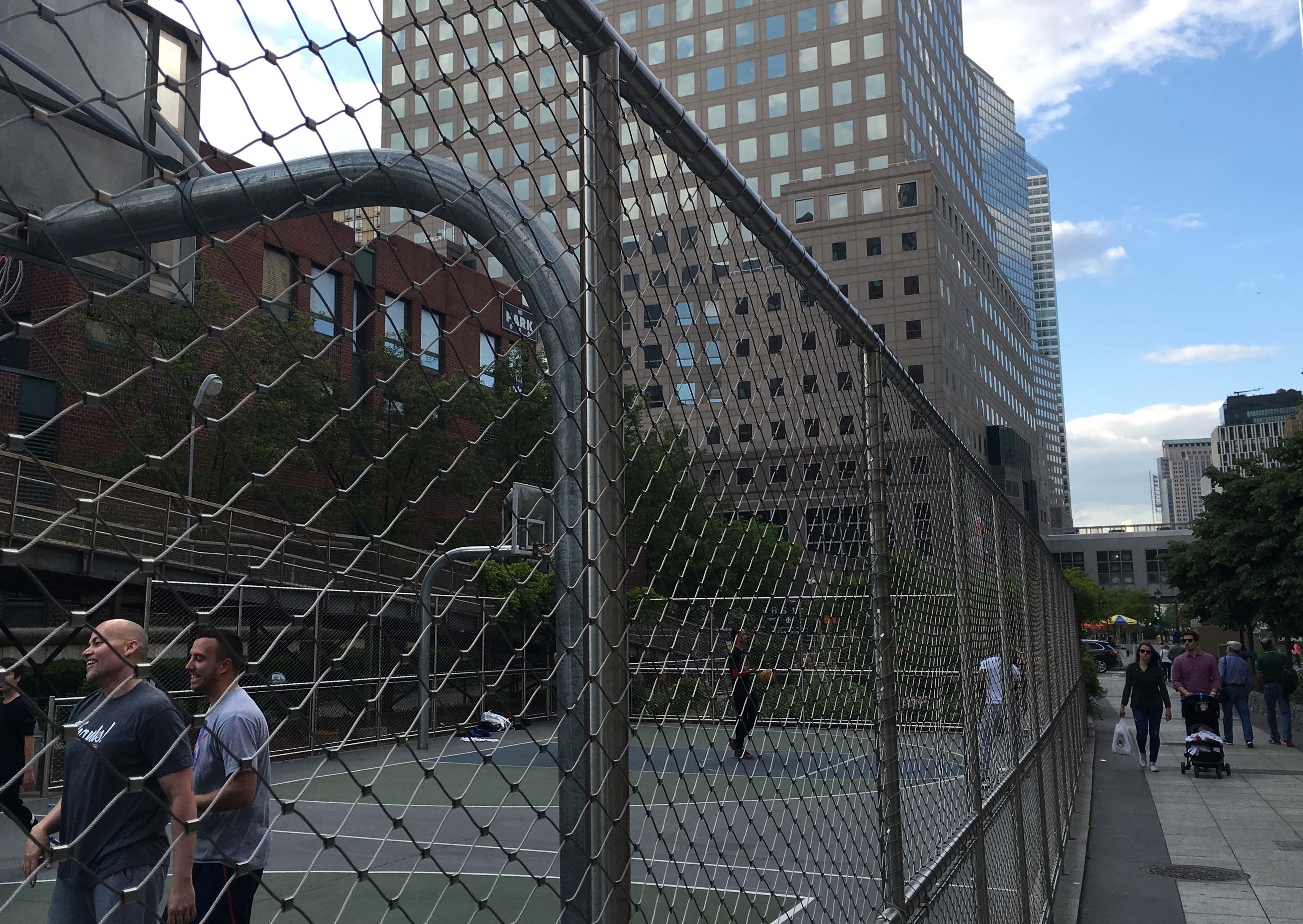 Proper high fence
