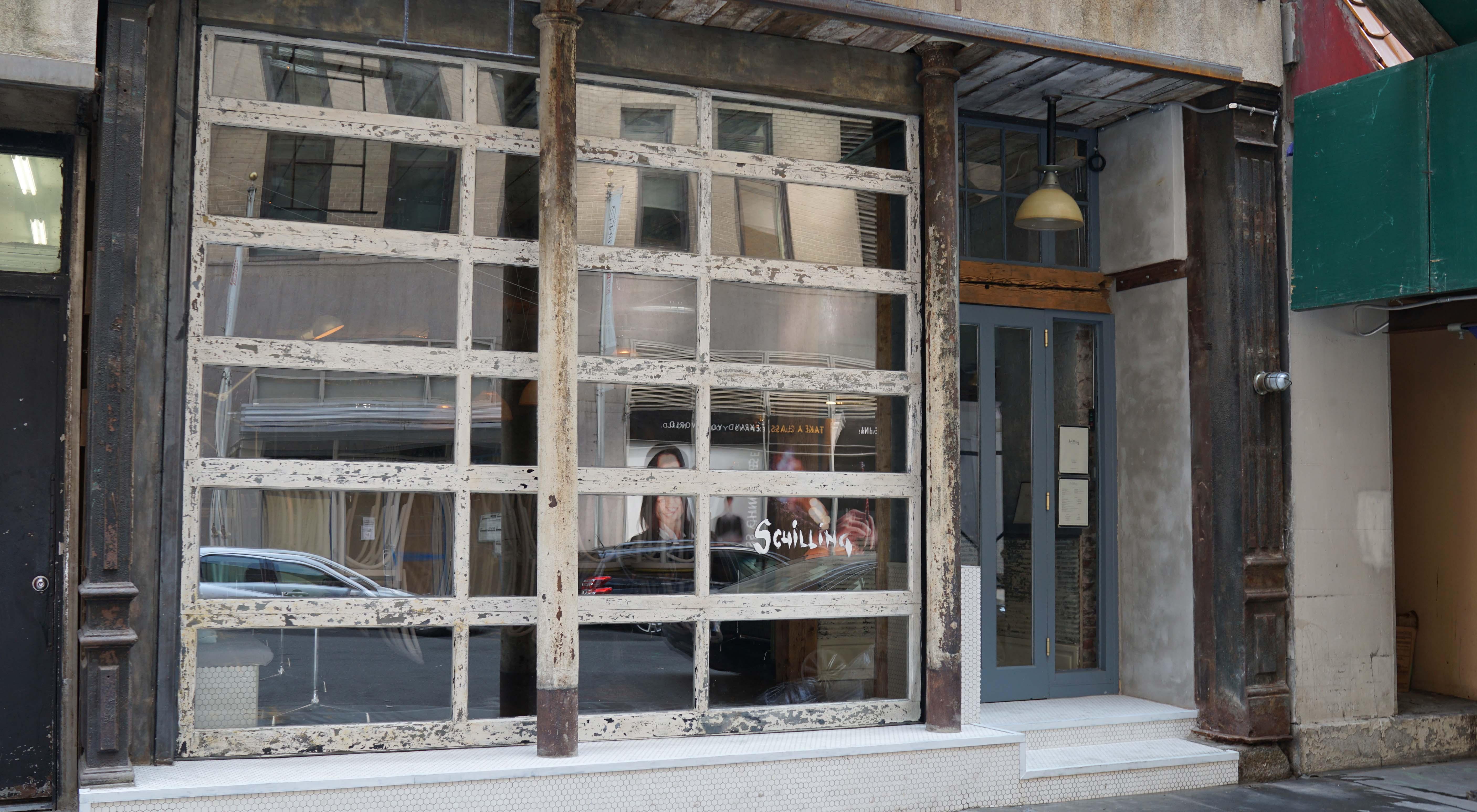 Schilling garage door
