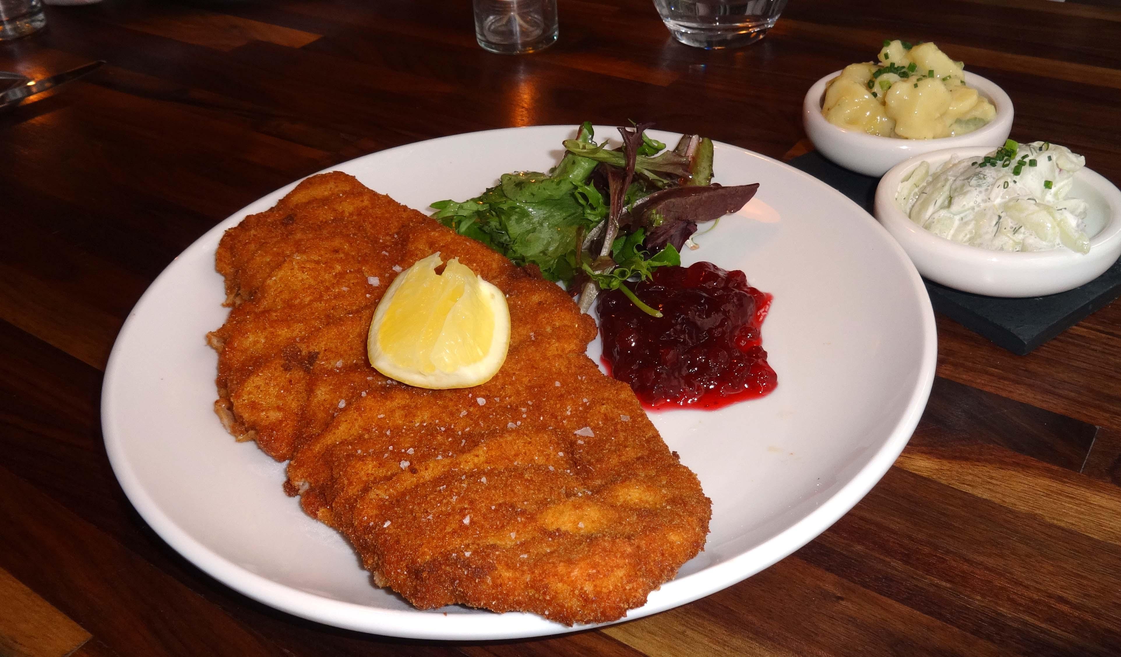 Schilling pork weiner schnitzel