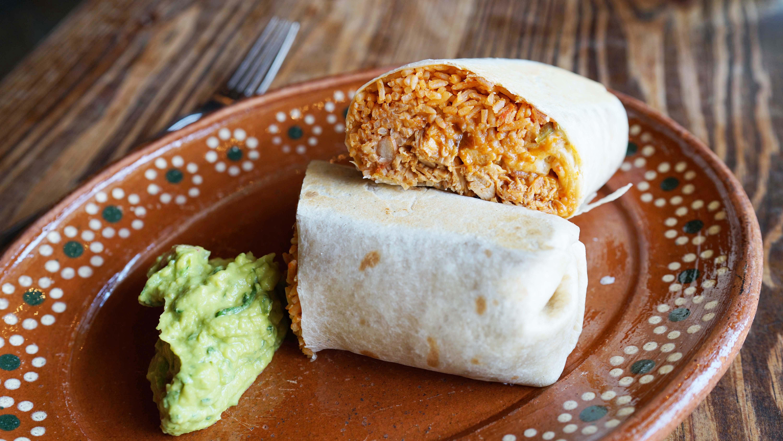 chicken burrito El Vez B
