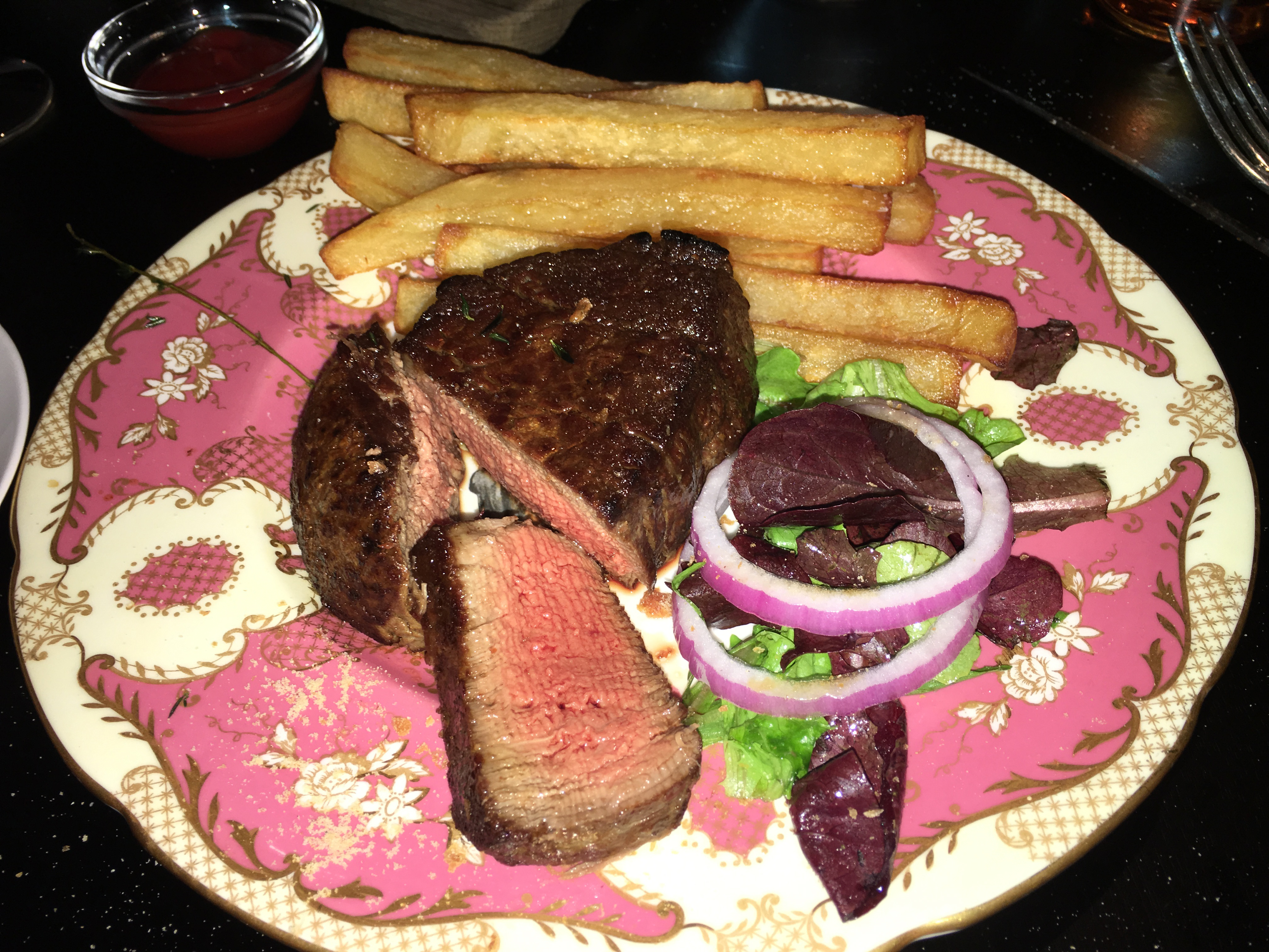 Fillet mignon at The Clocktower