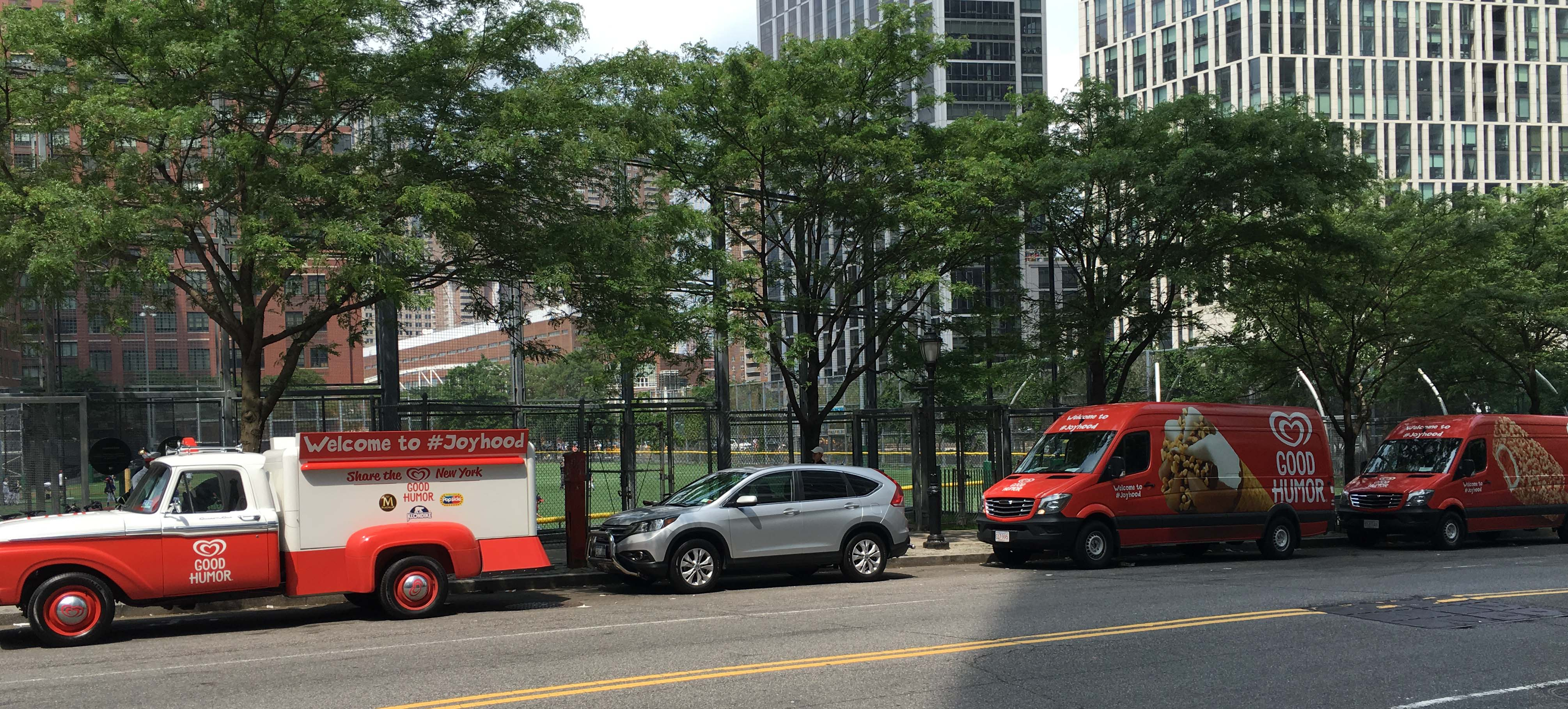 Invasion of the Good Humor ice cream trucks