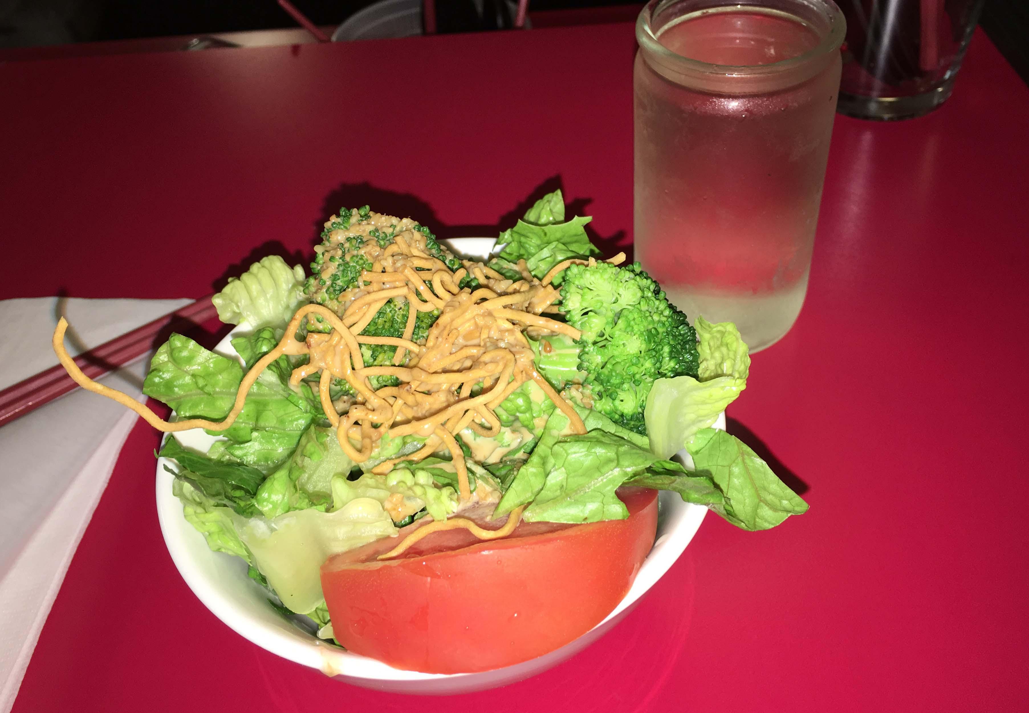 Mokomiya salad