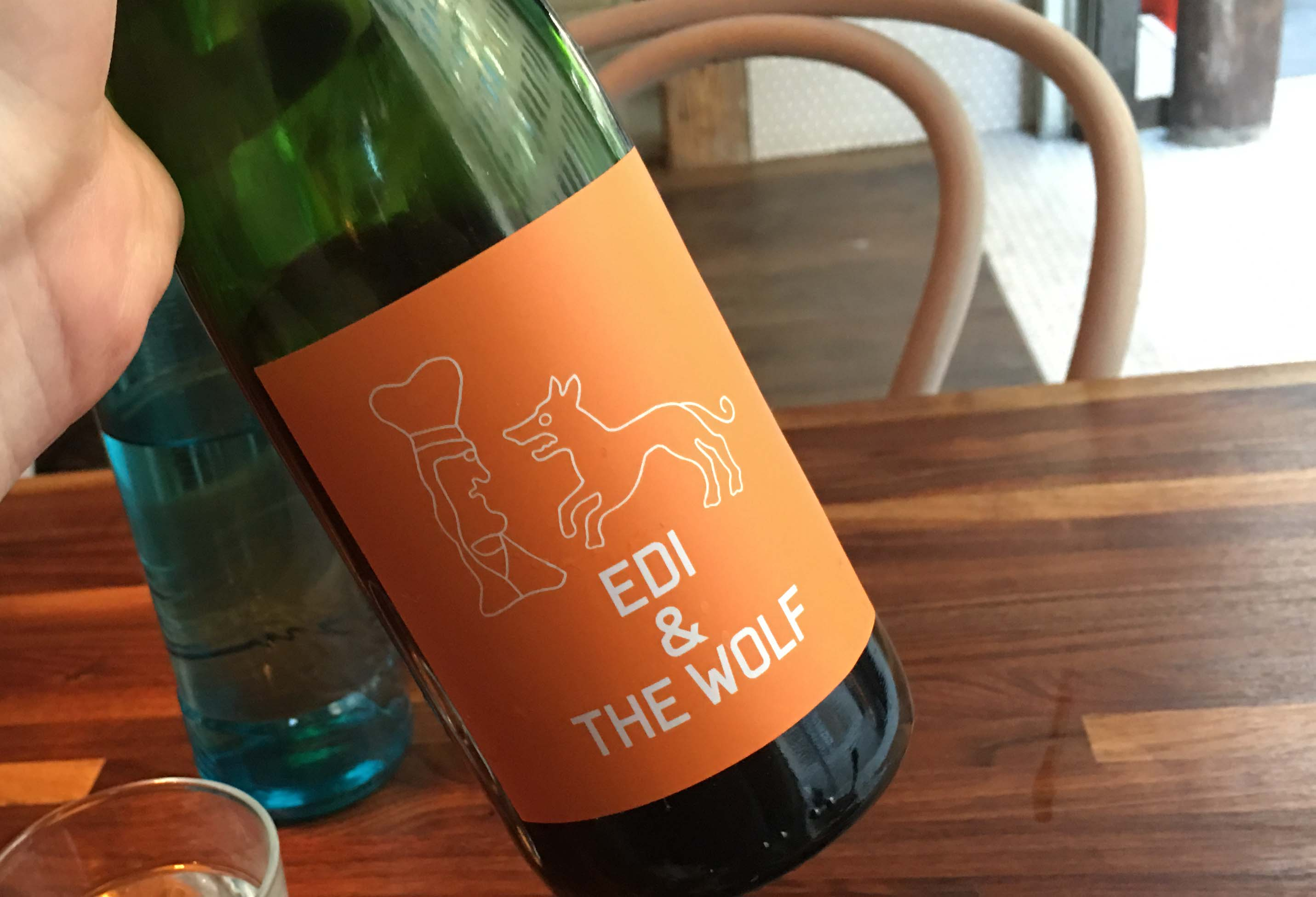Schilling Edi and the Wolf wine