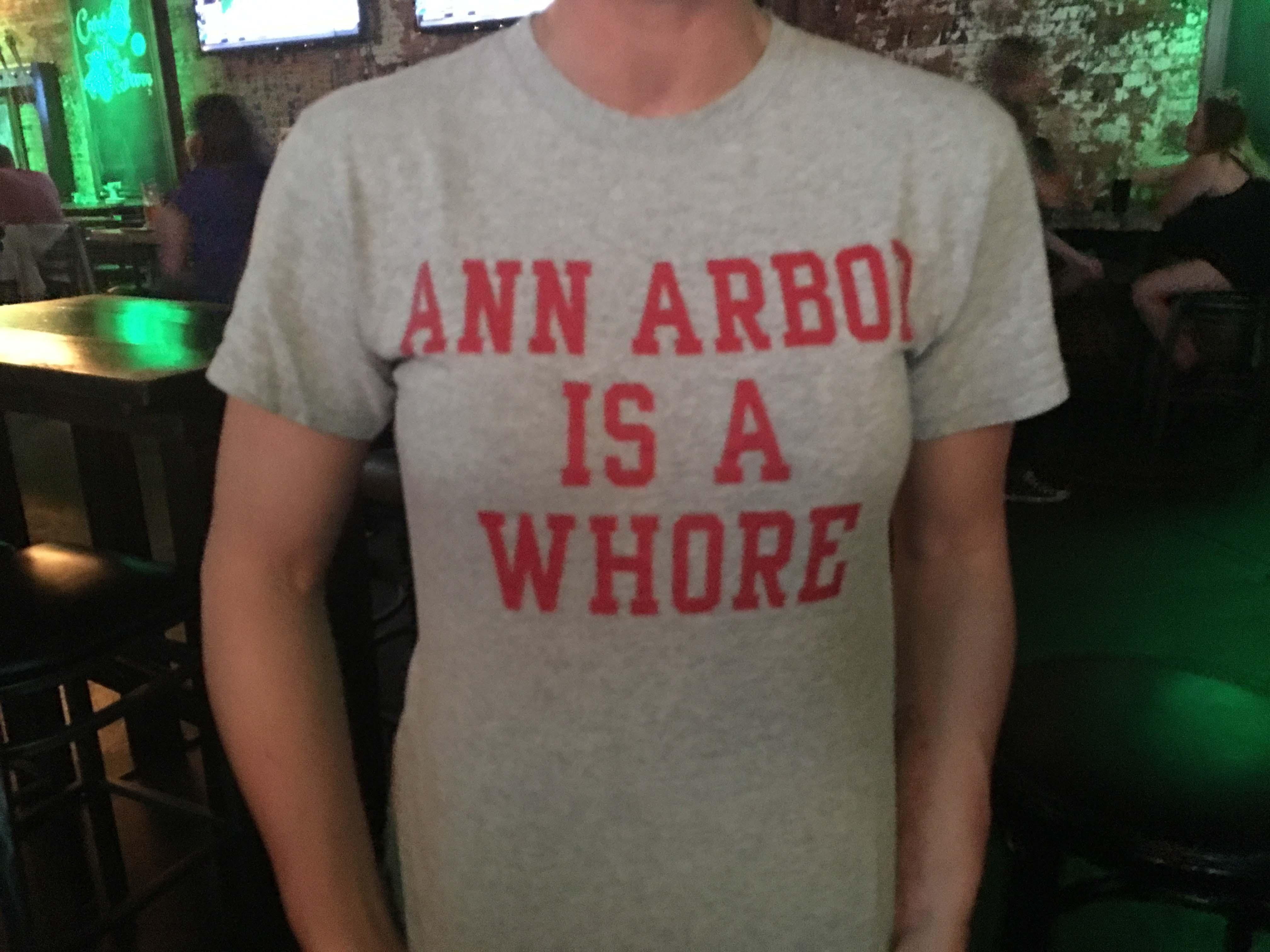 Ann Harbor is a Whore