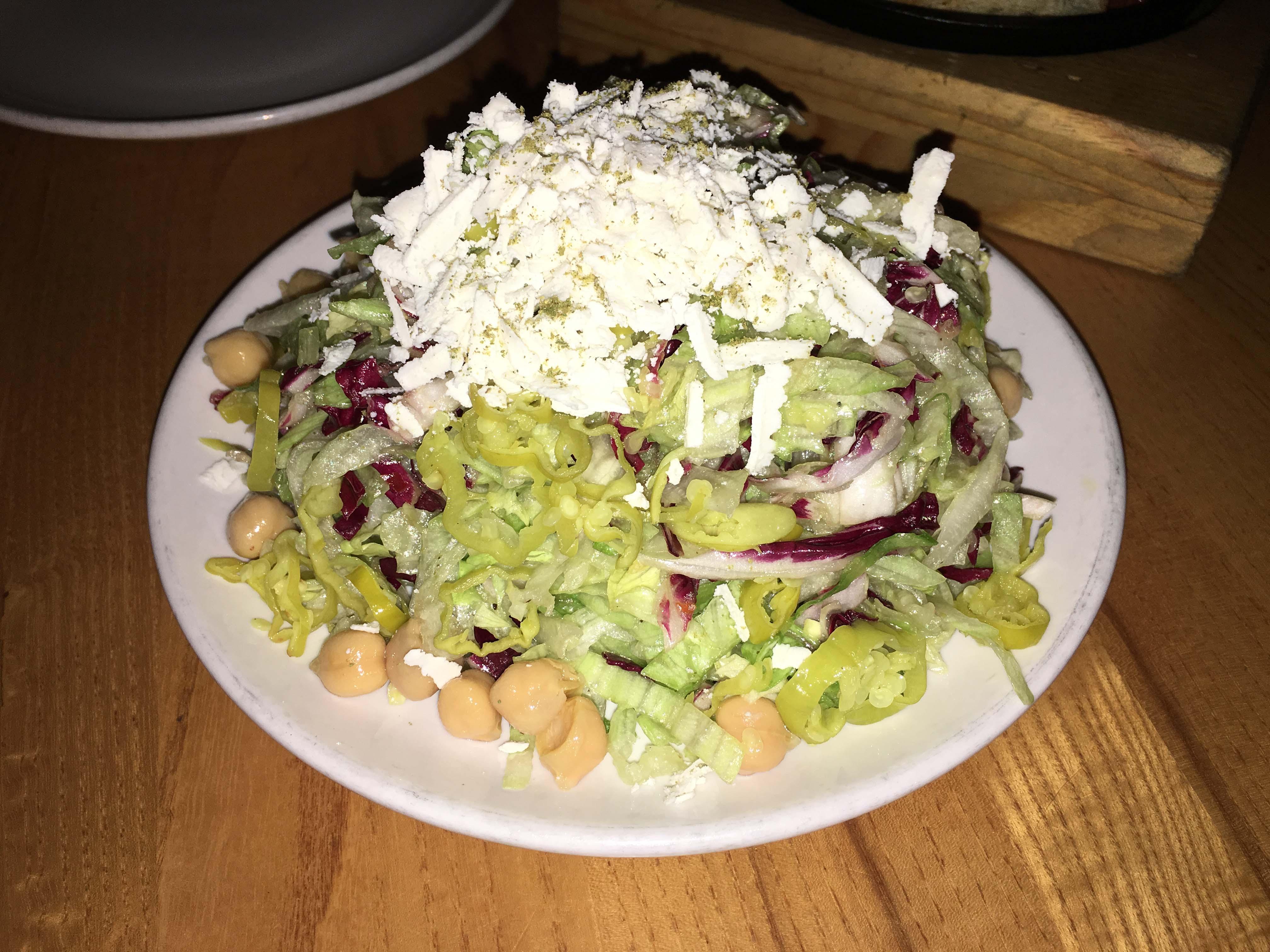 Harvest house salad half portion