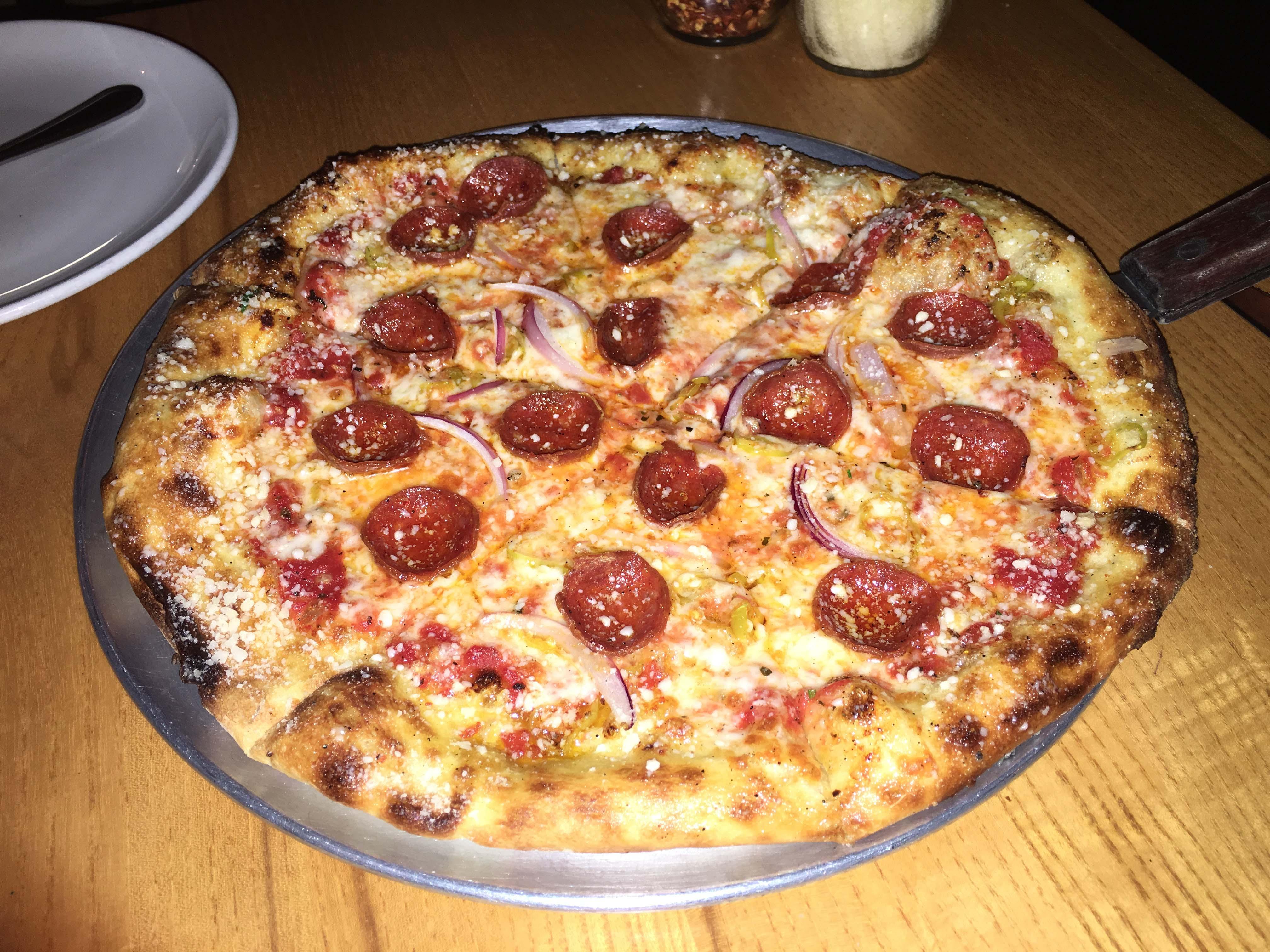 Harvest pizza peperoni