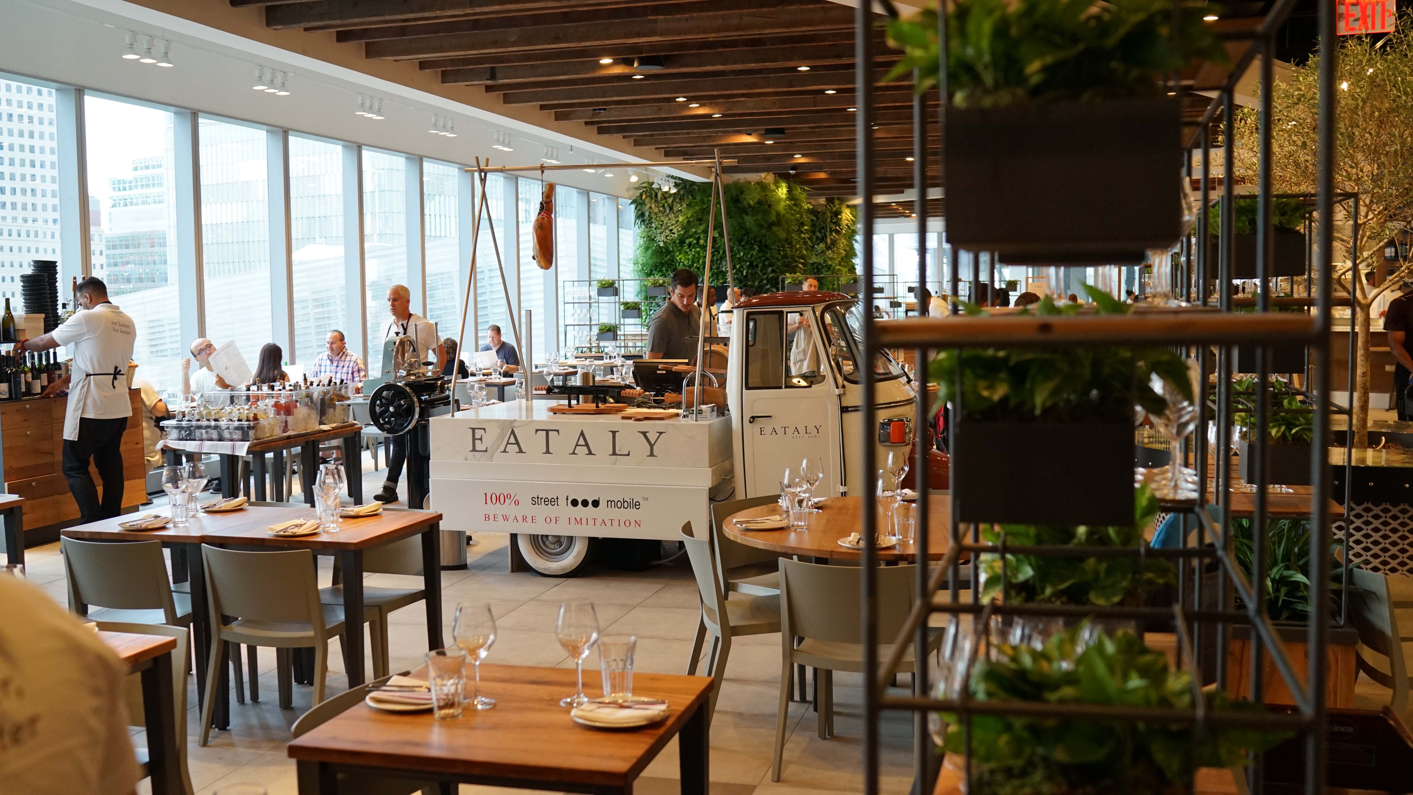 Eataly dining room truck