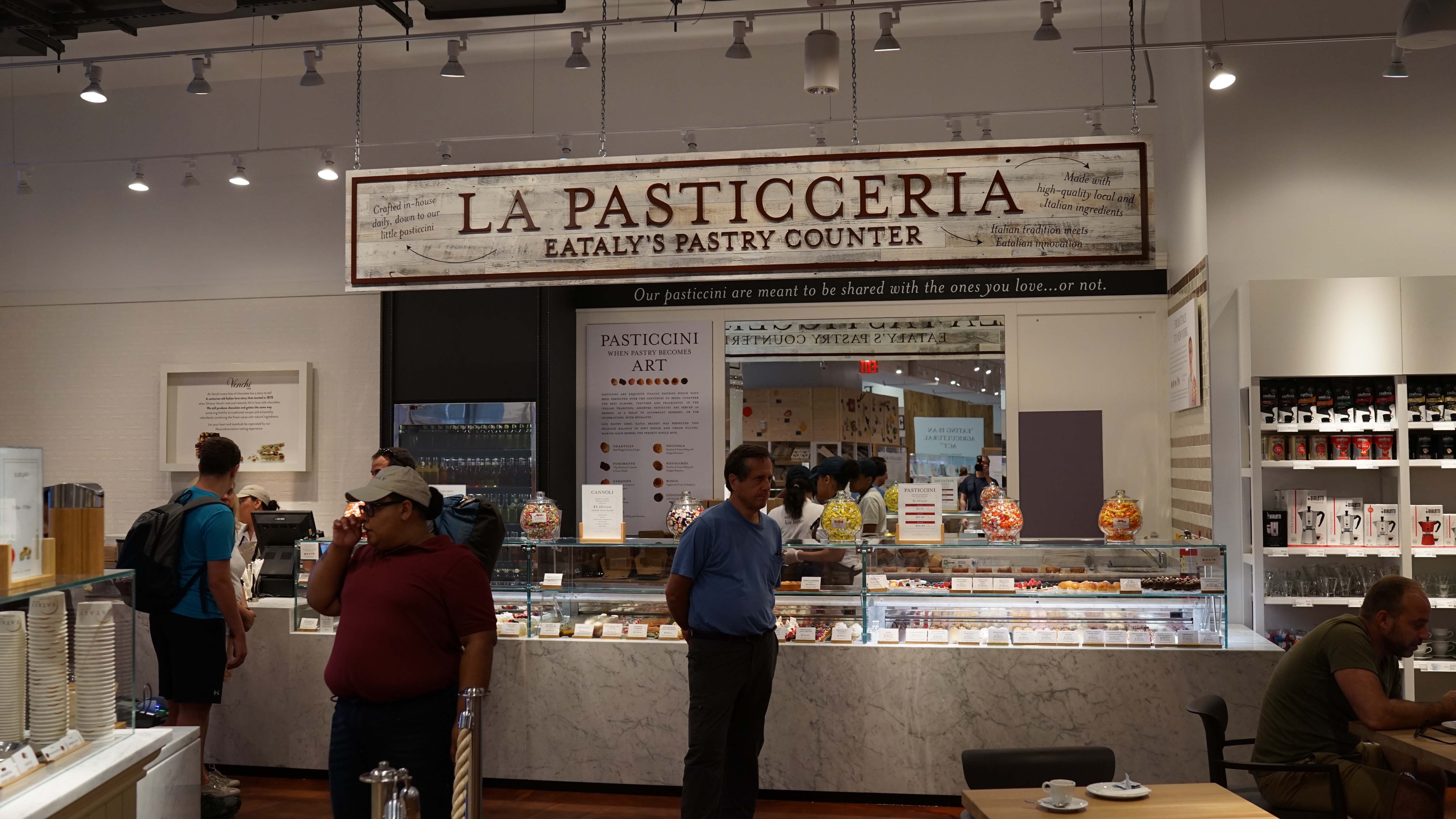 Eataly pastry section