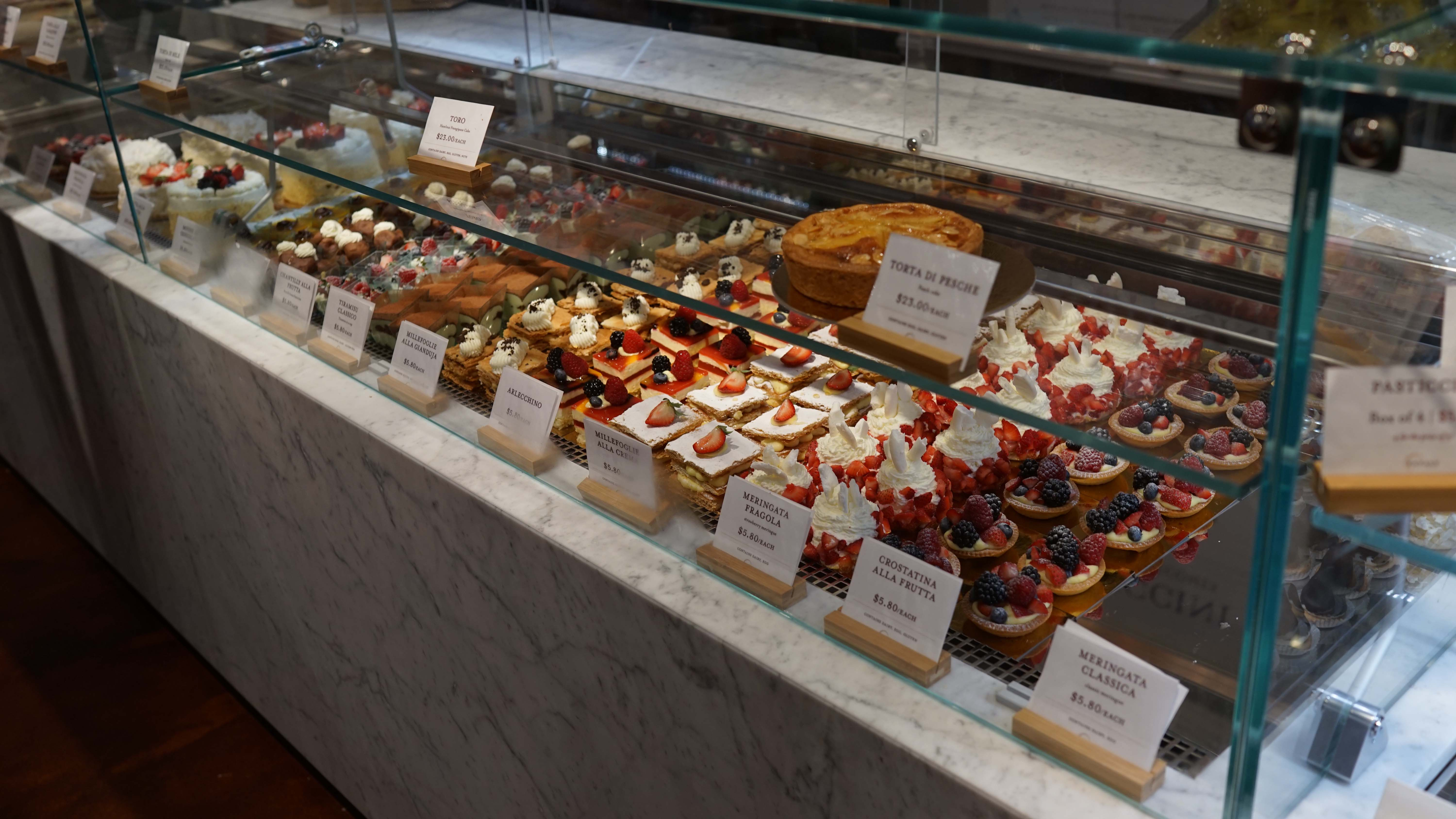 Eataly pastry