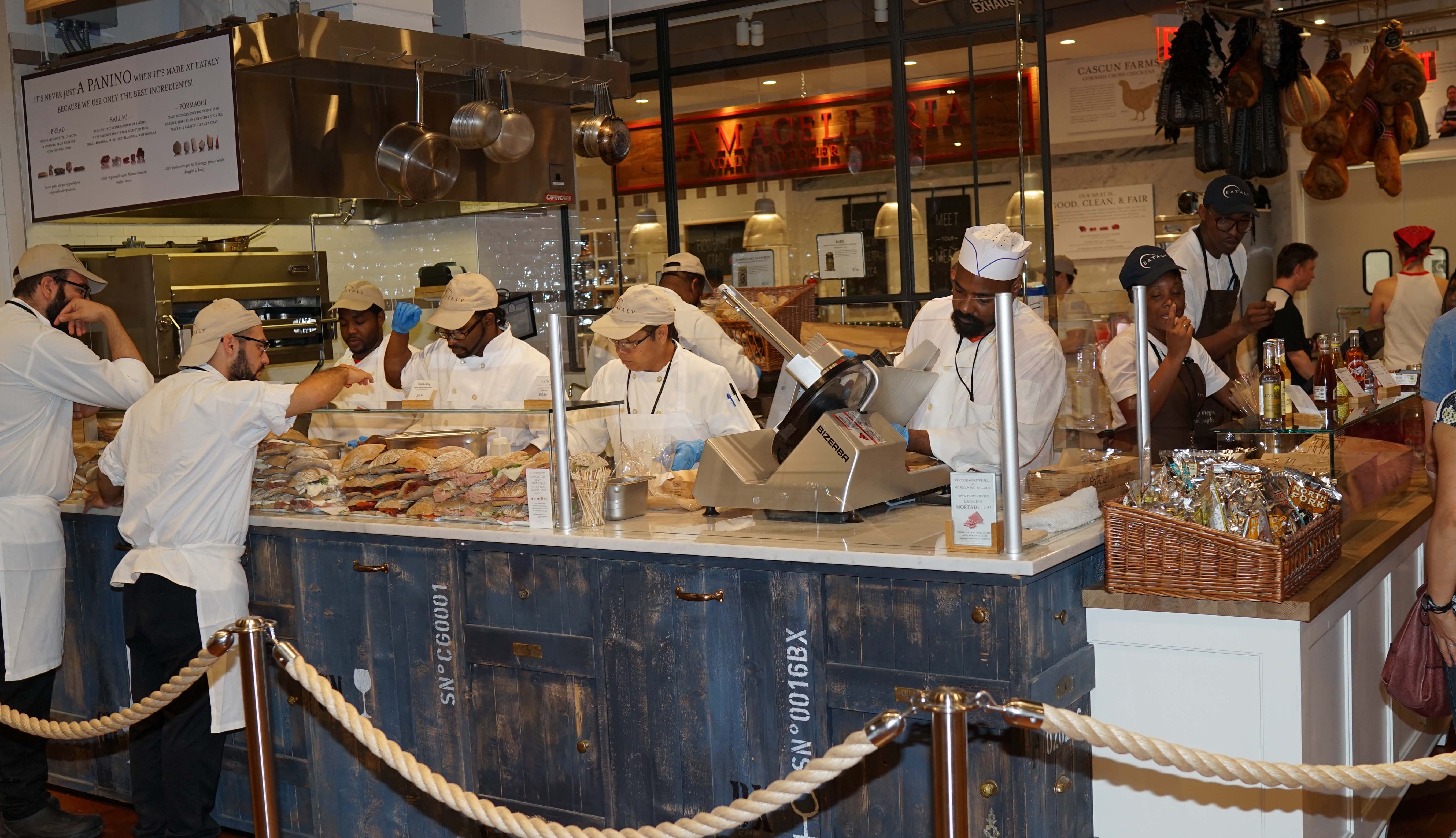 Eataly sandwich section
