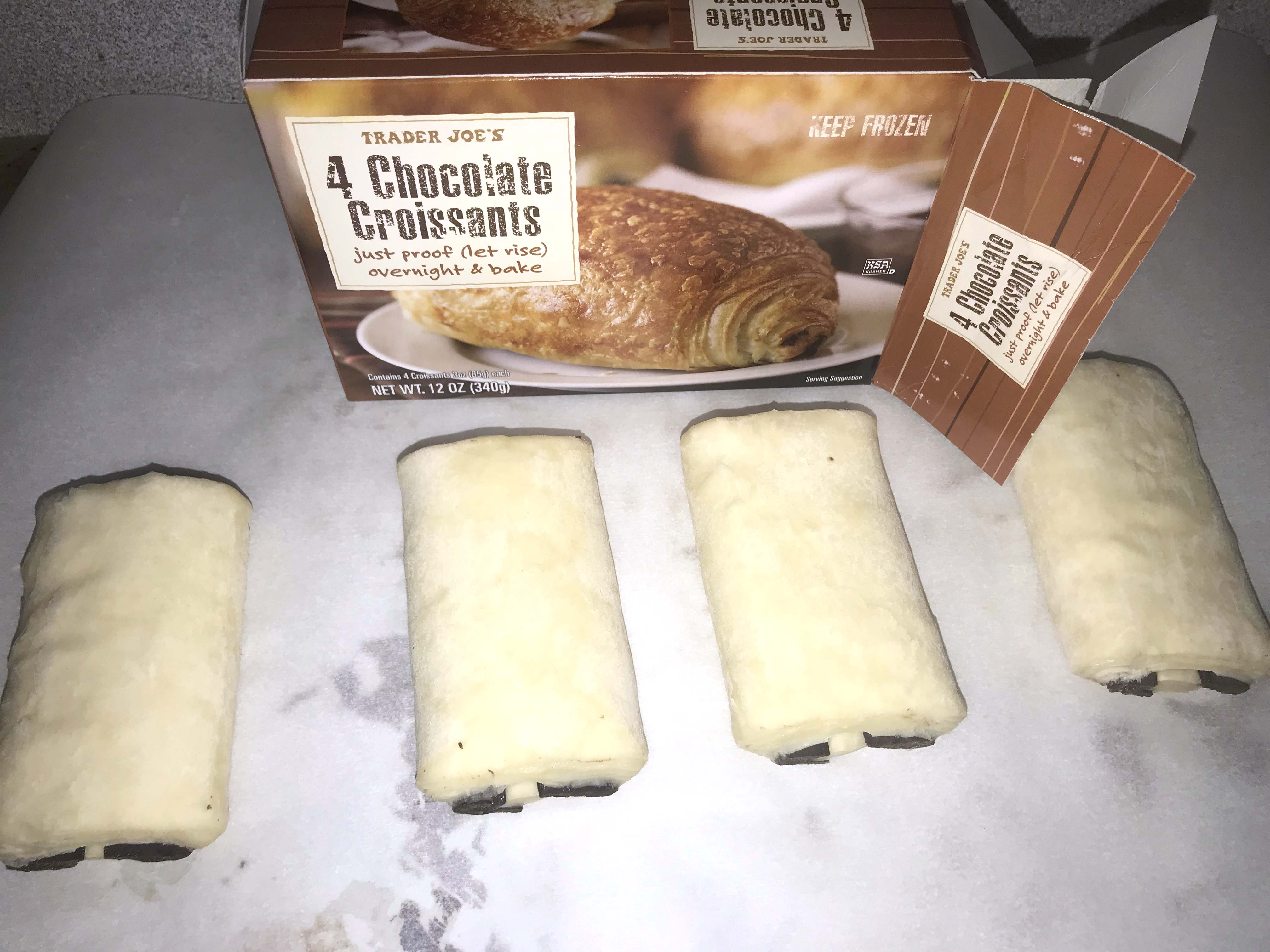 Trader Joe S Bake At Home Chocolate Croissants